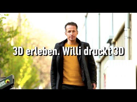 3D erleben. Willi druckt 3D (Offizieller Teaser)