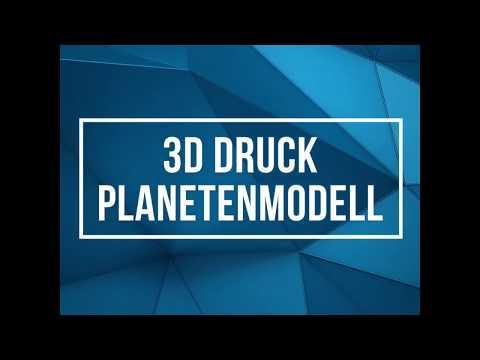 3D Druck Planetenmodell