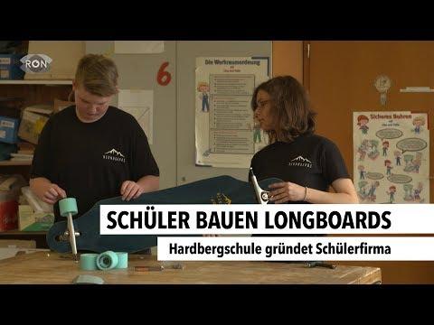 Schüler bauen Longboards | RON TV |