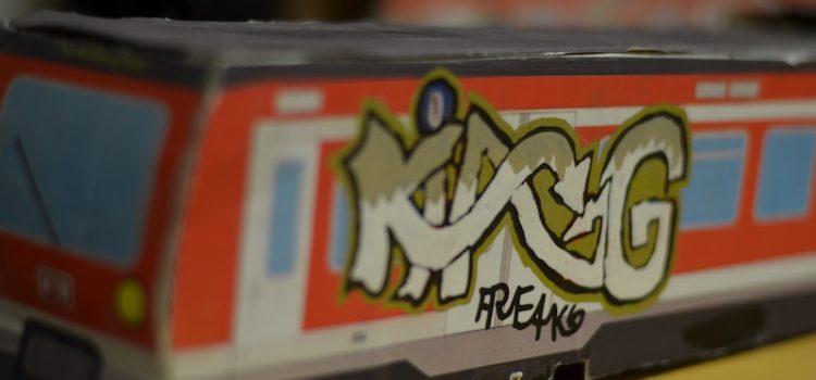 Graffiti – ein PL unseres ISP- Praktikanten, David Schneider