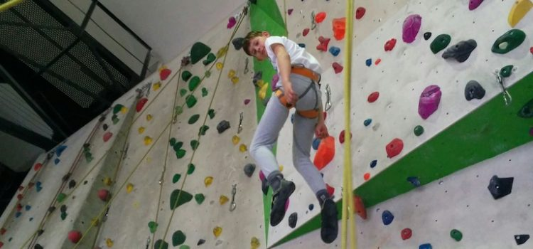 Klettern und Parcours