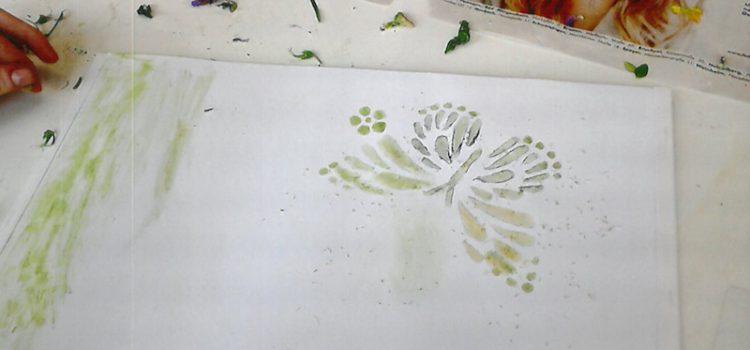 Malen für die Seele mit Naturmaterialien