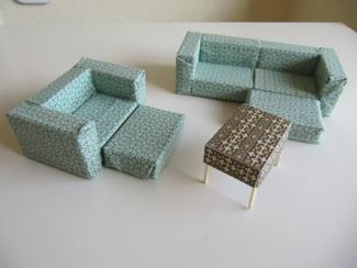 Mini-Möbel-Bau