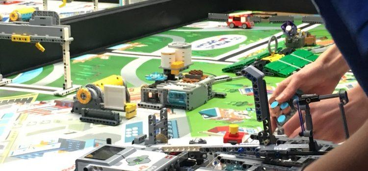 Besuch des First Lego League Turnier