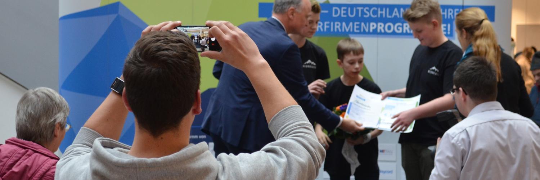 Wettbewerb der Schülerfirmen in Sindelfingen