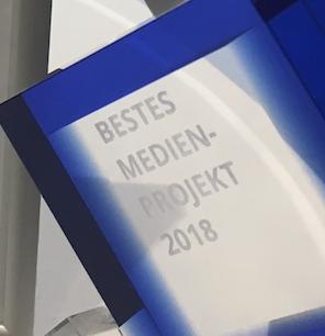 15.000 € Preisgeld beim Medienpreis 2018