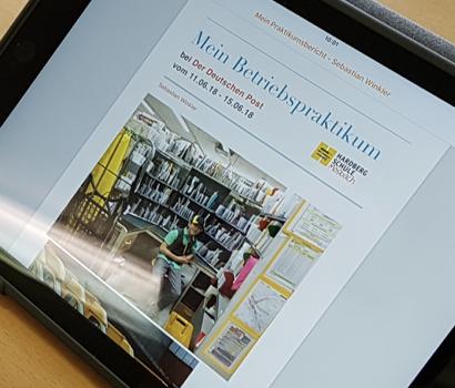 Der digitale Praktikumsbericht