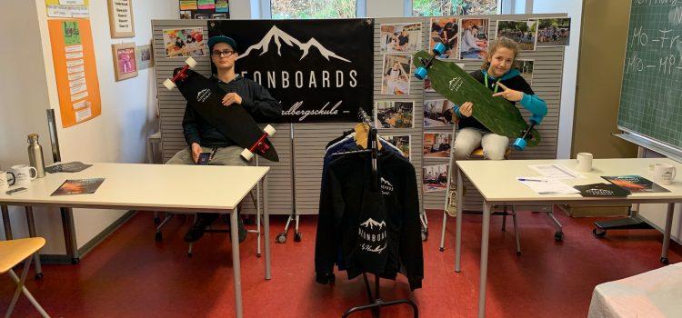 Pop Up-Store der Neonboards