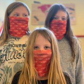 Förderverein spendet 200 Masken