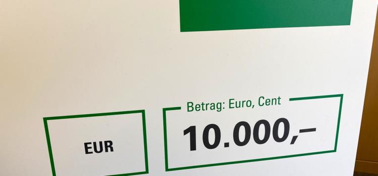 10.000€ Spende für die Hardbergschule
